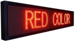 Professionele LED lichtkrant afm. 205 x 40 x 7 cm_
