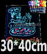 LED-schrijfbord-30cm*40cm-|-90-functies