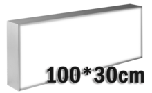 LED-lichtbak-100x30cm