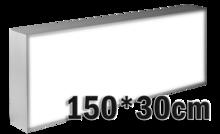 LED-lichtbak-150x30cm