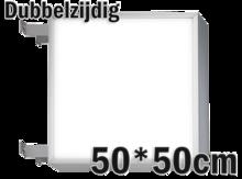 LED-lichtbak-50x50cm-Dubbelzijdig
