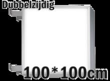 LED-lichtbak-100x100cm-Dubbelzijdig