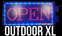 Outdoor LED open bord XL