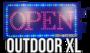 Outdoor LED open bord XL _